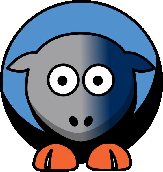clip art free download Sheep Charlotte Bobcats Team Colors Clip Art at Clker