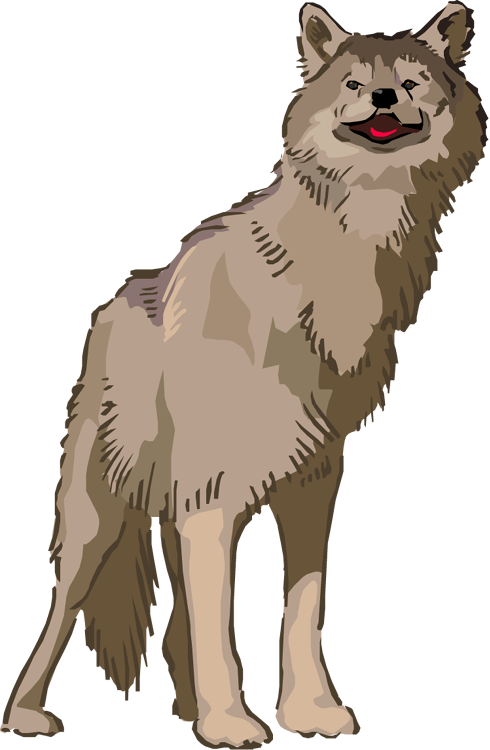 clip royalty free download Free Wolf Clipart