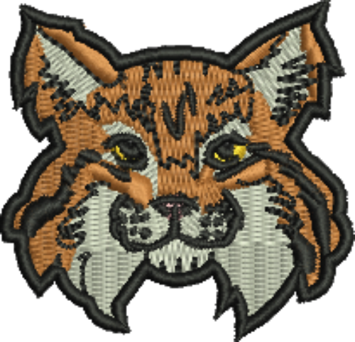 picture library stock Bobcat Mascot Iron