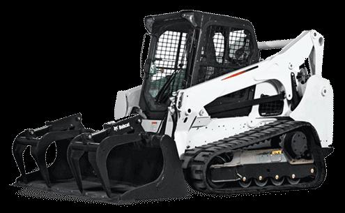 black and white Bobcat Muffler