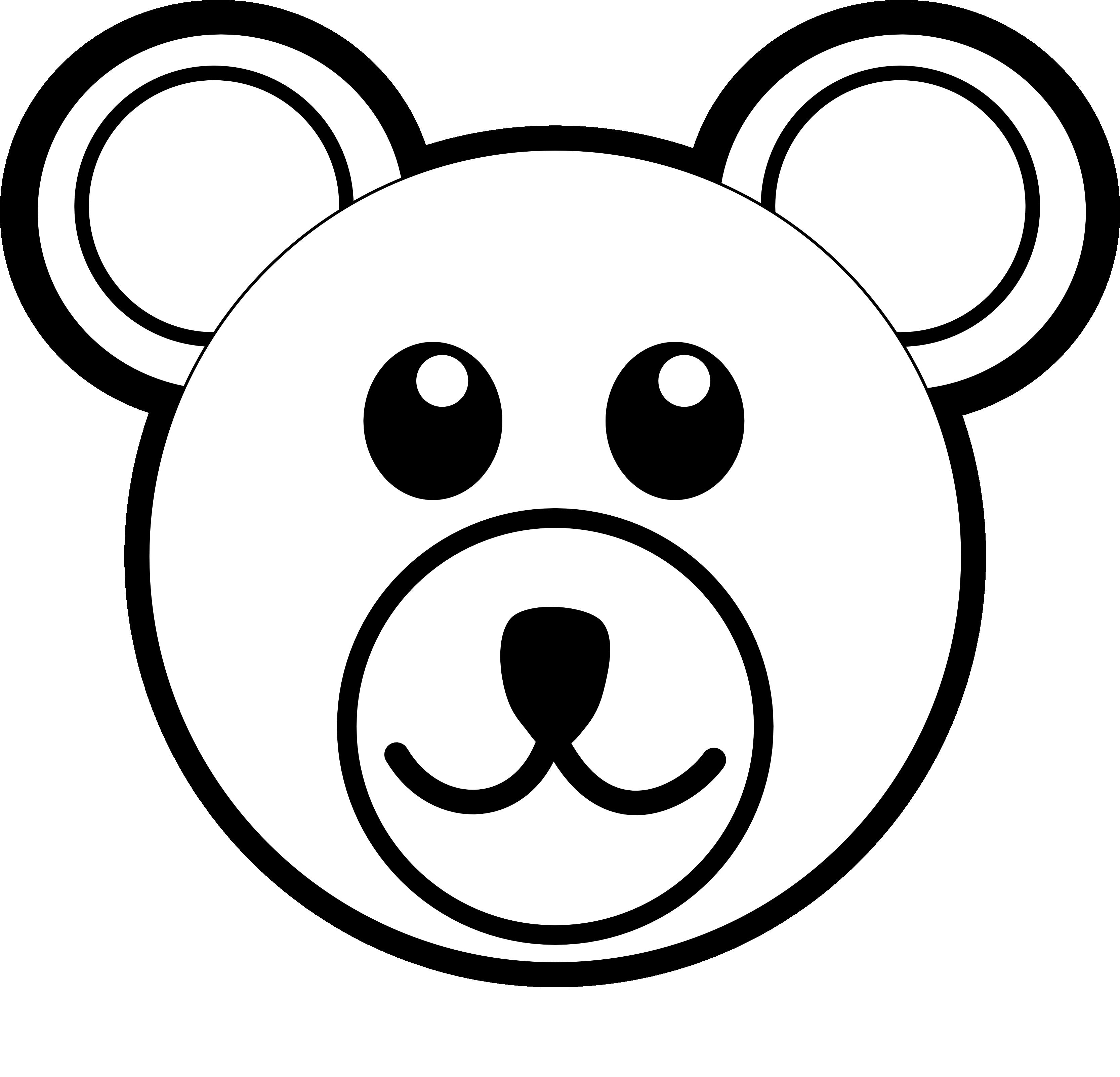 vector free stock Bobcat clipart face. Grizzly bear panda free