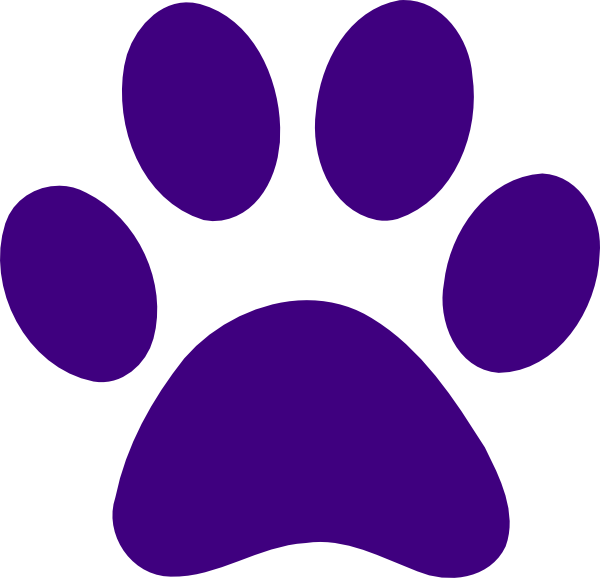 svg freeuse stock Cougar Clipart paw print