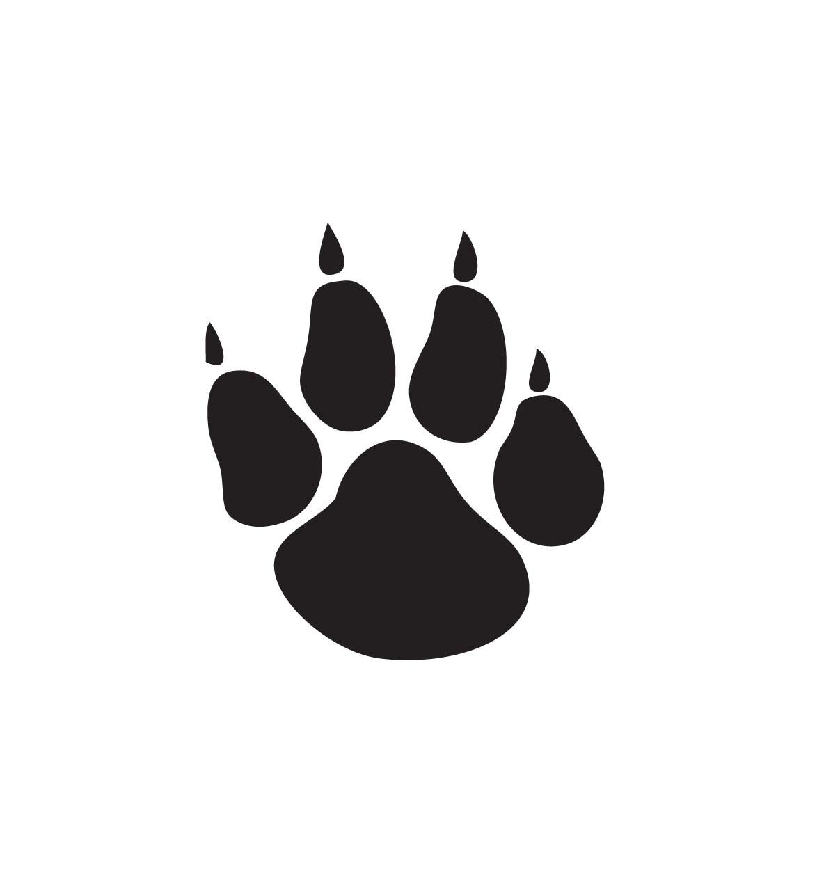 transparent download Free paw print download. Bobcat clipart panther