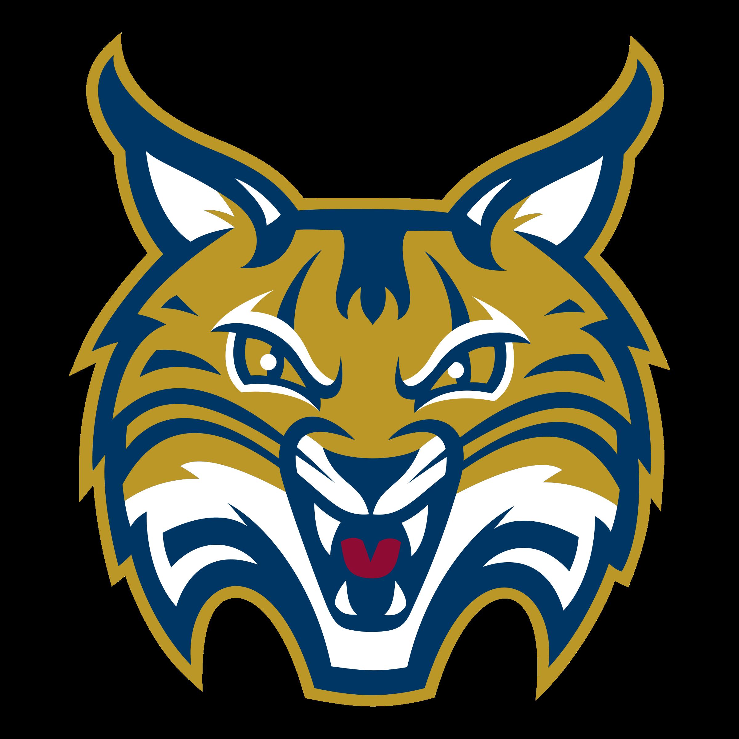 png freeuse Bobcat clipart svg. Quinnipiac bobcats logo png