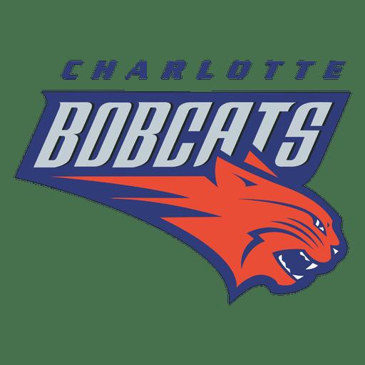 banner freeuse download Bobcat clipart svg. Charlotte bobcats logo transparent