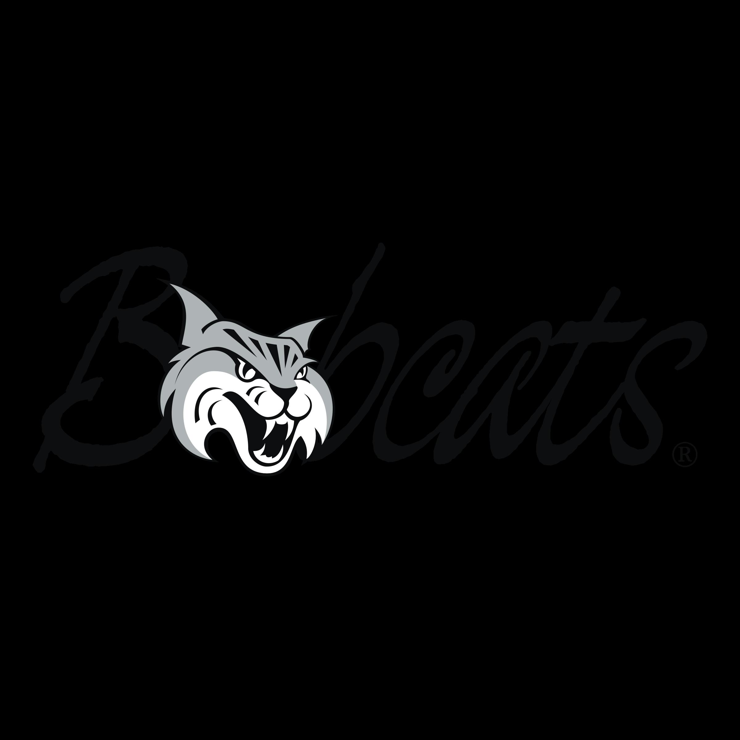 vector download Bobcats logo png transparent. Bobcat clipart svg