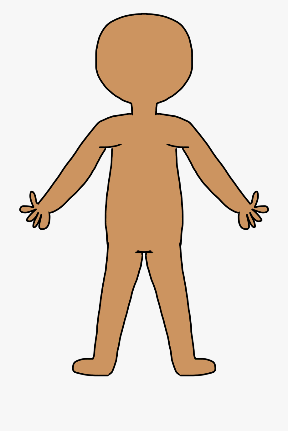 svg free library Clip art free cliparts. Body clipart