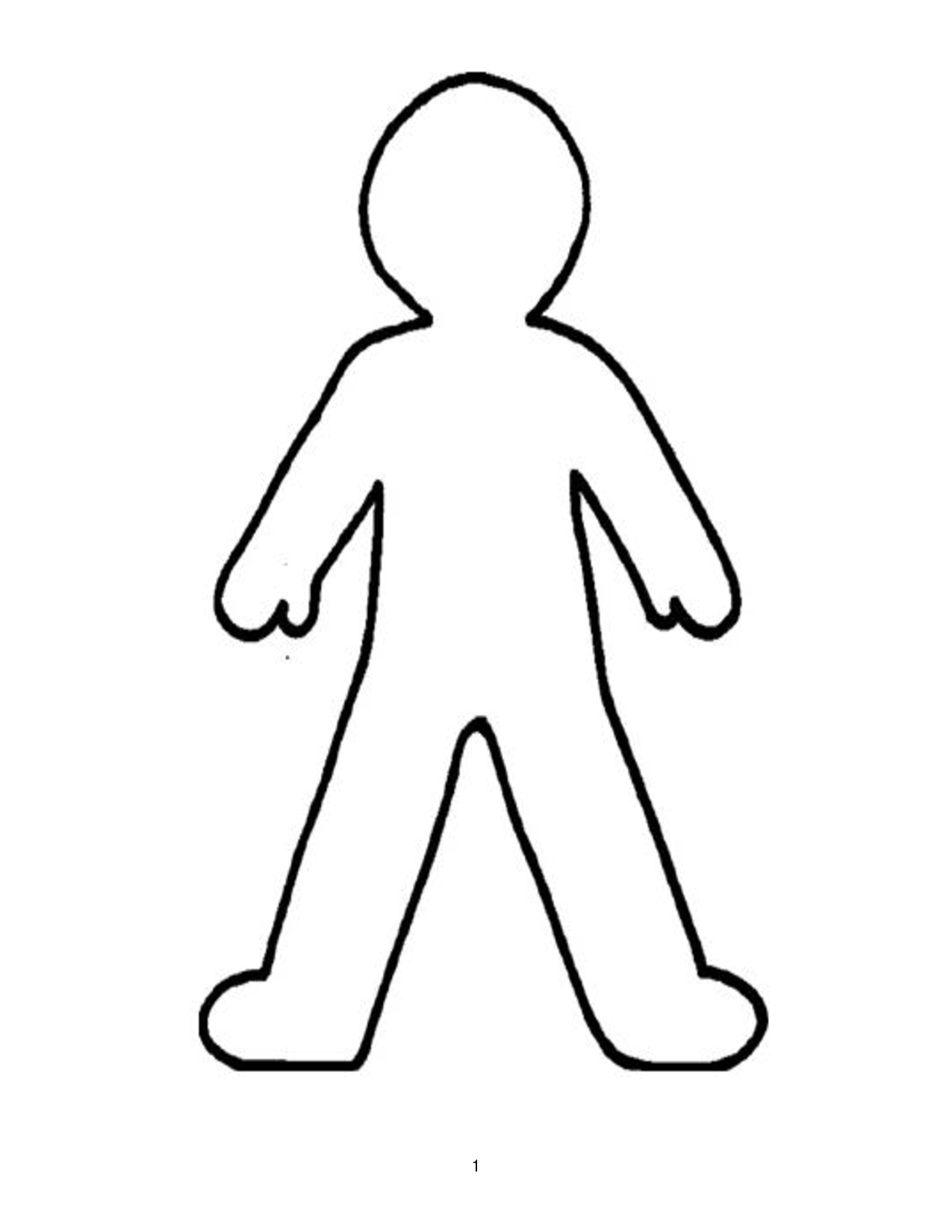 graphic Body clipart. Free outline cliparts download