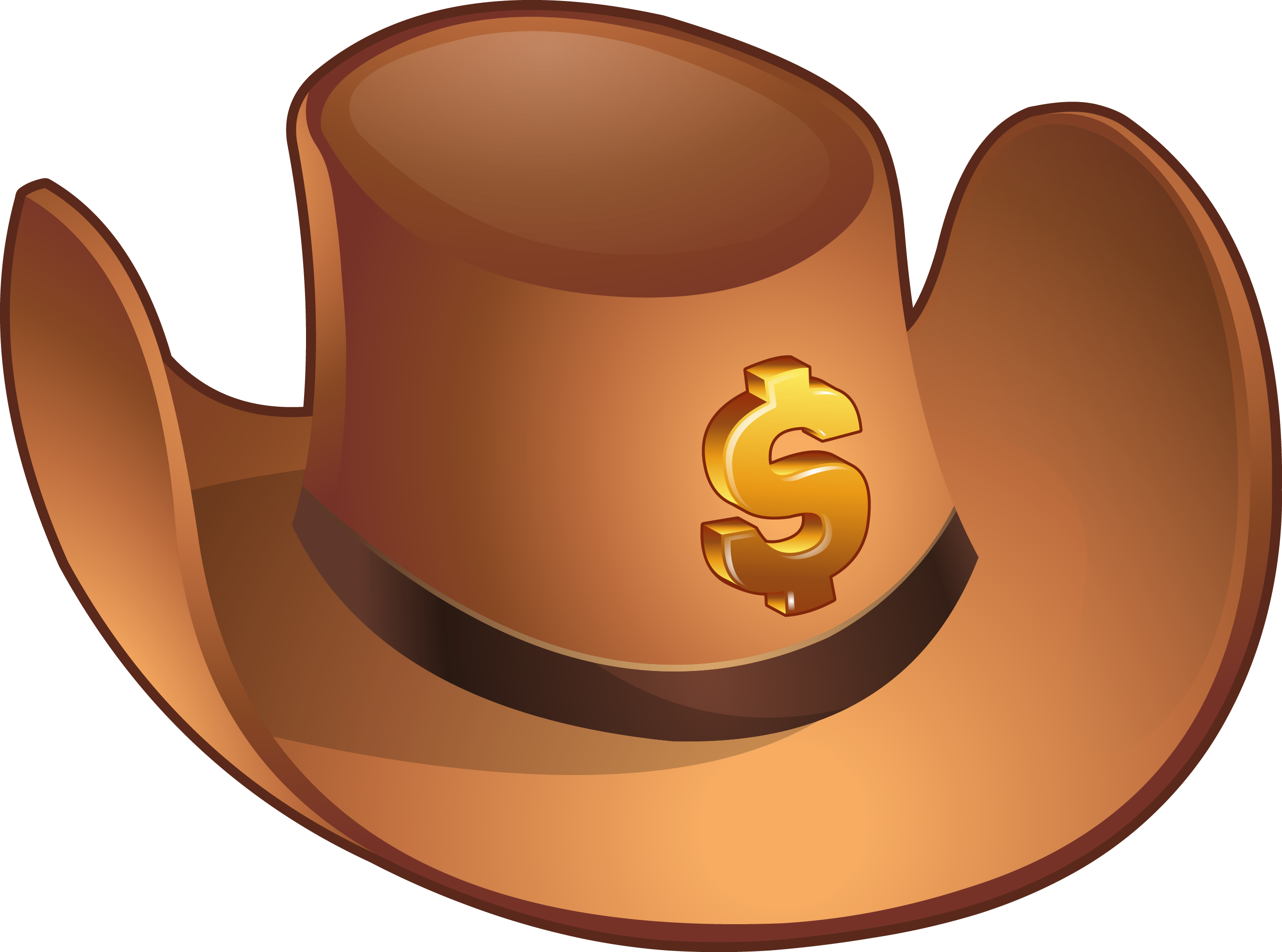 jpg free download Body clipart cowboy. Hat brown thing free