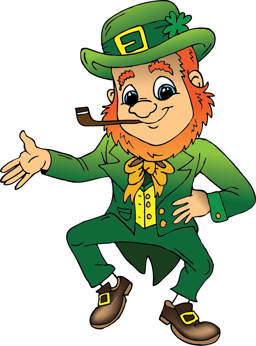 royalty free download Body clipart leprechaun. Forever young st patrick