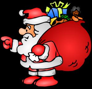 banner transparent download Claus clipart cute. Santa clip art website.