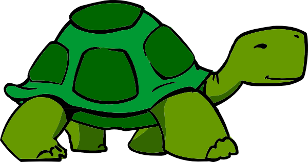 clipart library turtle side view drawing