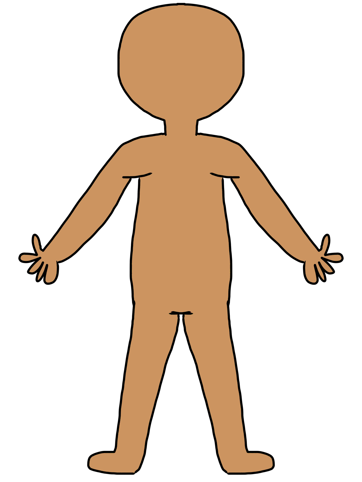 jpg free stock Body clipart. Free