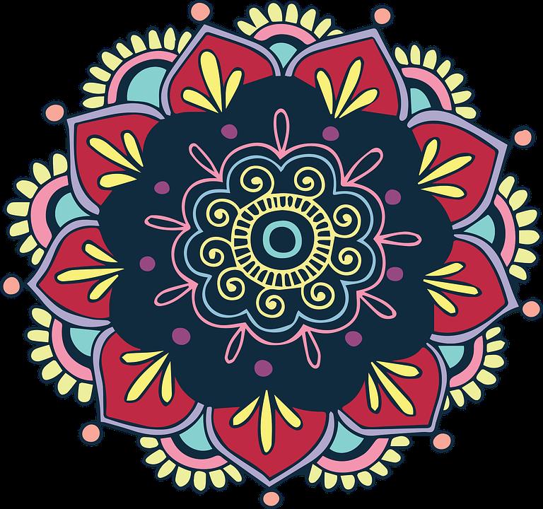 clipart royalty free stock Mandala transparent bohemian. Free image on pixabay