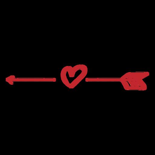banner transparent library Heart clip art transprent. Boho arrow clipart