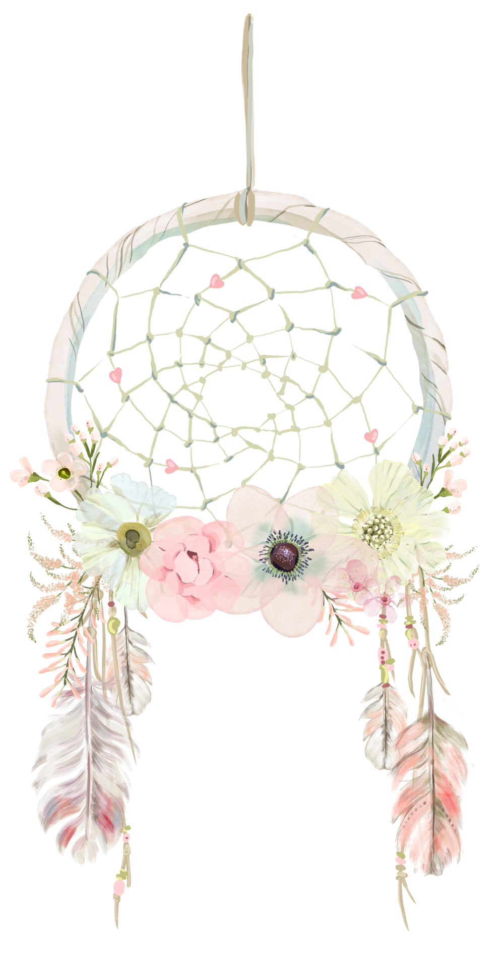 clip royalty free library Dream catcher saferbrowser yahoo. Boho clipart