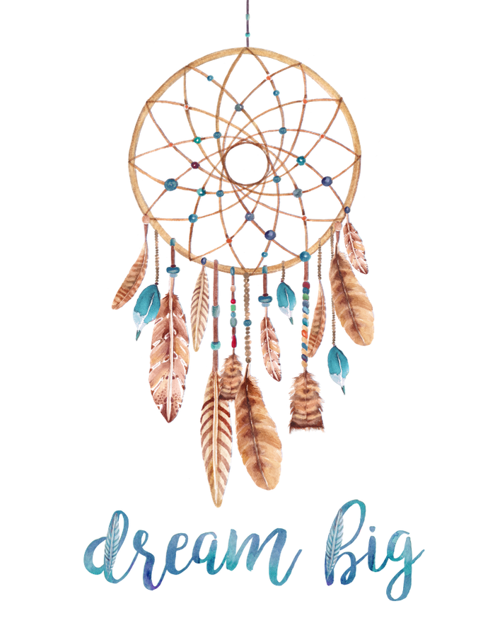 jpg free download A motivational bohemian art. Boho clipart