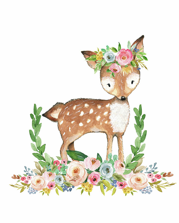 clip royalty free download Boho clipart deer. Transparent free for download.