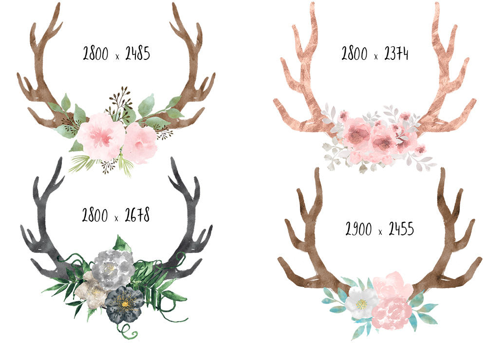 png library download Bohemian transparent free for. Boho clipart deer.