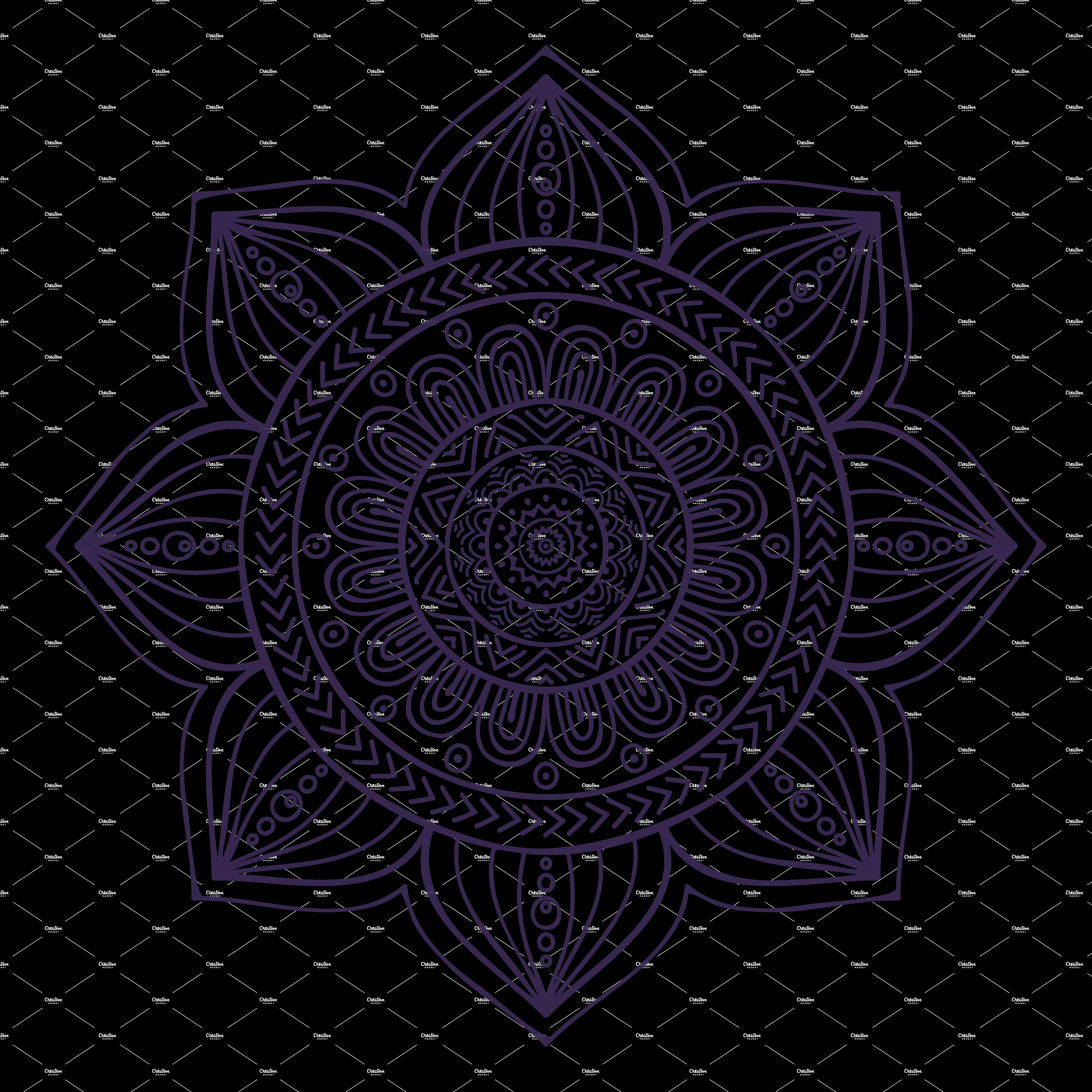 clipart Mandala Collection