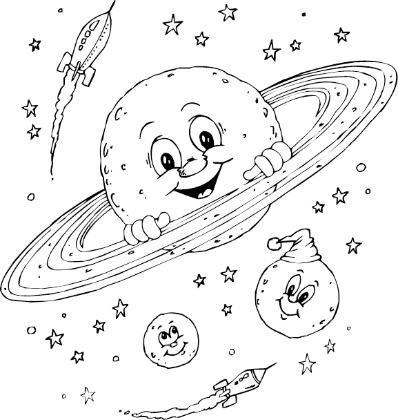 clip art transparent download Planet Drawing For Kids at GetDrawings
