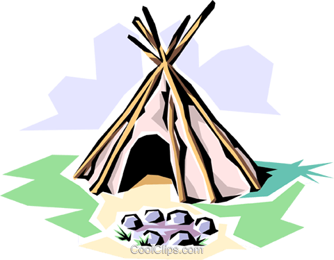 royalty free download Teepee Clipart at GetDrawings