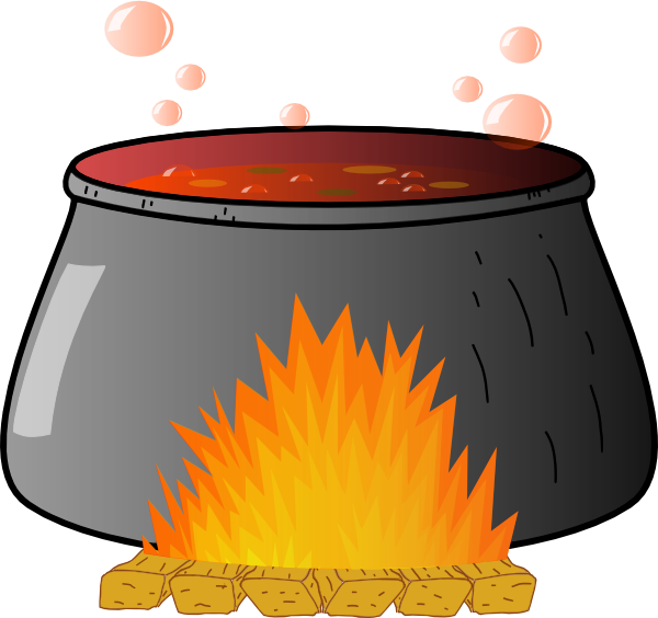 jpg transparent download Boiling Cauldron Clip Art at Clker