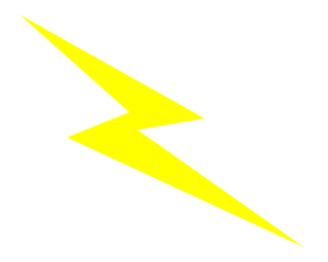 picture stock Yellow lightening art at. Bolt clip