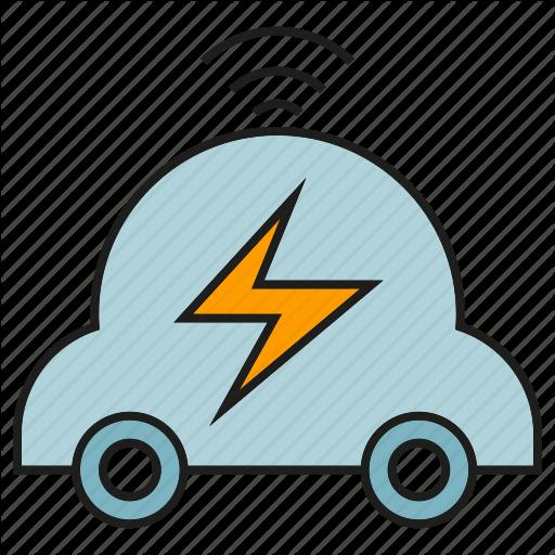 clip art transparent Bolt clip car. Smart home part by