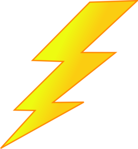 image royalty free Bolt vector lightning. Lightinging strike clip art