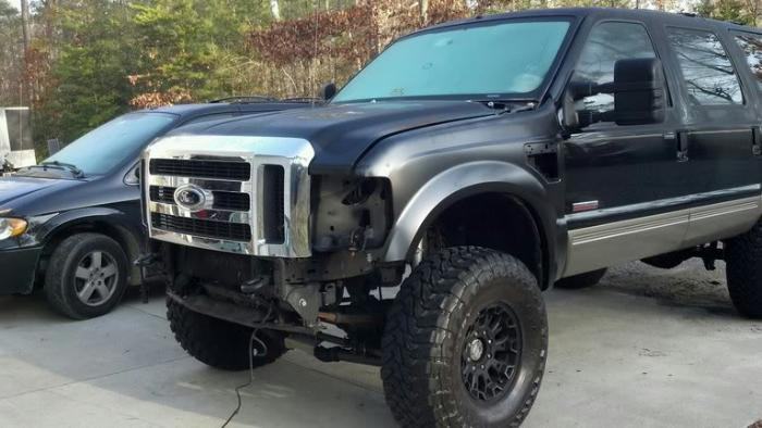 banner freeuse Bolt clip super duty ford.  front conversion on