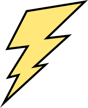 picture stock Bolt clipart. Lightening