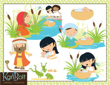 image free stock Moses clip art . Bolt clipart baby.