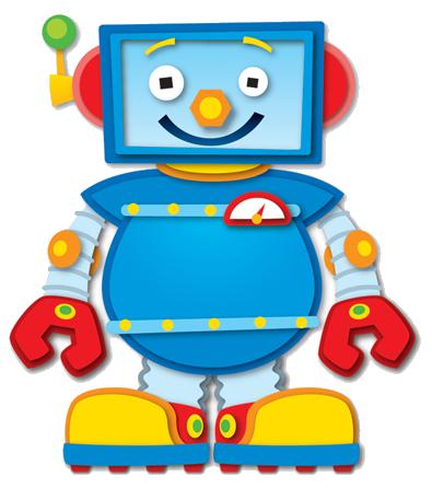 jpg transparent stock Robot clip art can. Bolt clipart baby