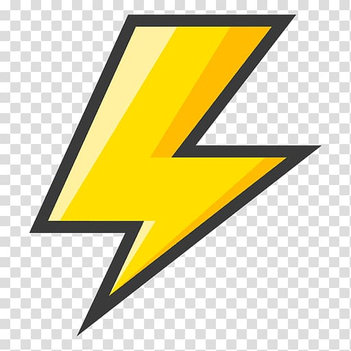 png royalty free stock Bolt clipart cool lighting. Yellow lightning artwork symbol.