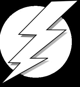 stock Black and white lightning. Bolt clipart draw.