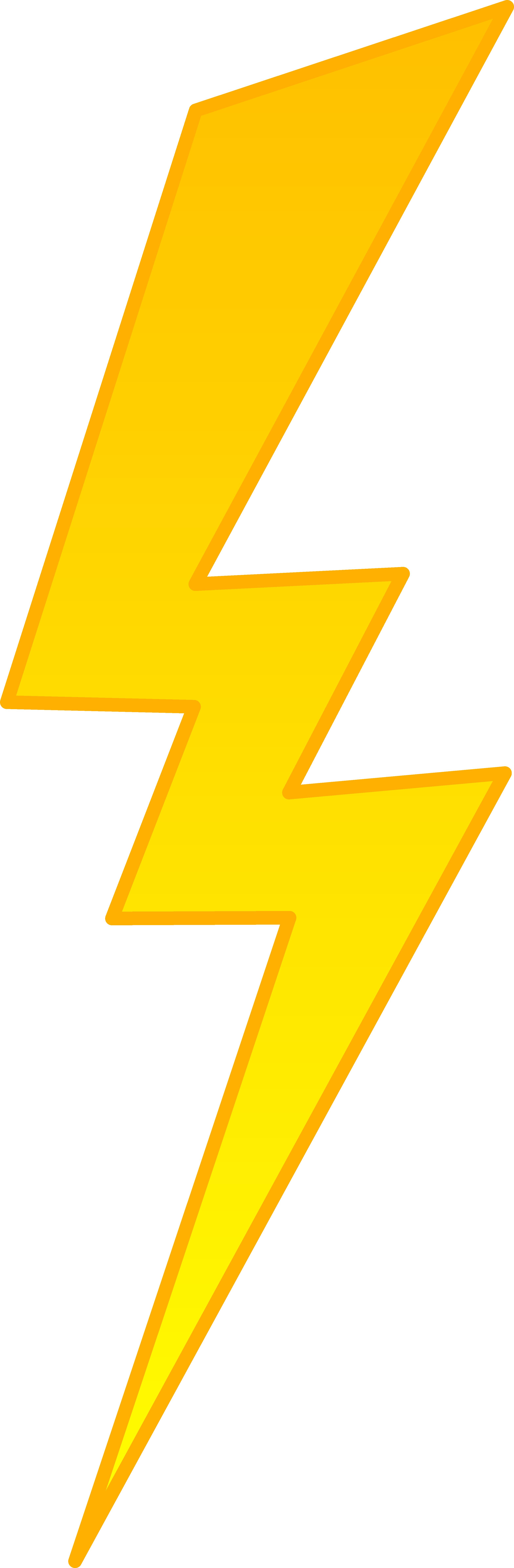 jpg transparent library Golden lightning symbol free. Bolt clipart gold