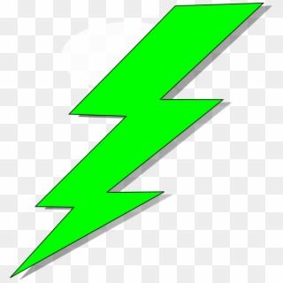 clip art royalty free library Banner freeuse green lightning. Bolt clipart gold