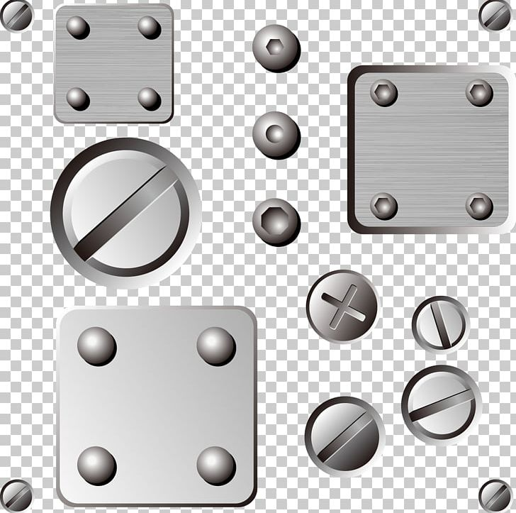 banner royalty free library Bolt vector steel. Nut metal screw png