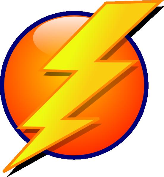 image library Bolt clip bed. Lightning logo cartoon art