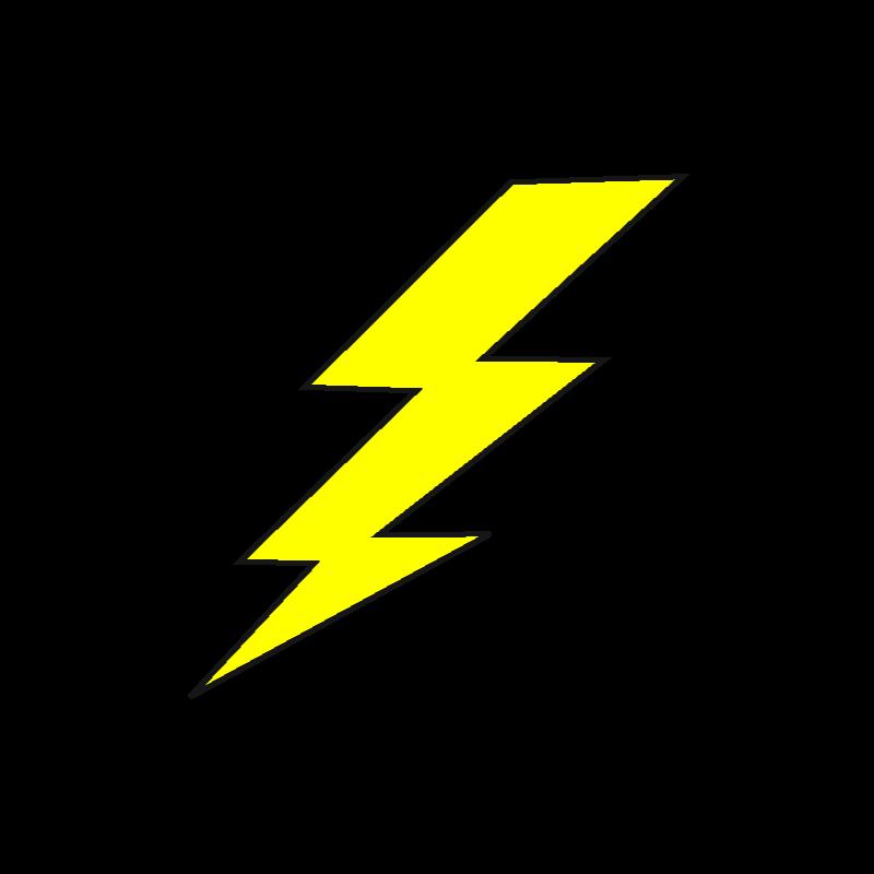image transparent Lightning animation clip art. Bolt vector high resolution