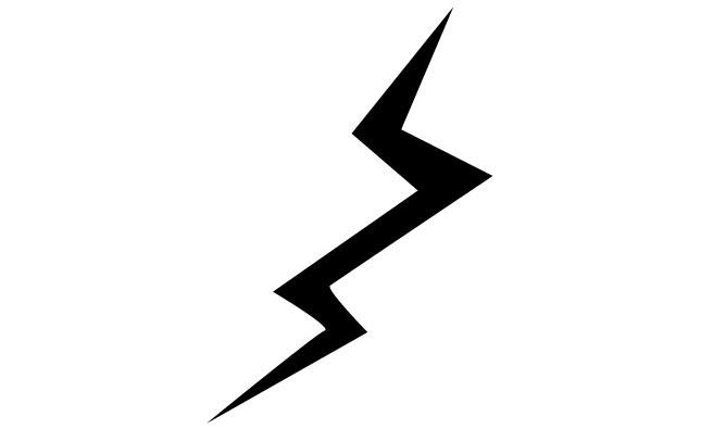 banner library stock Bolt vector illustrator. Free lightning download clip