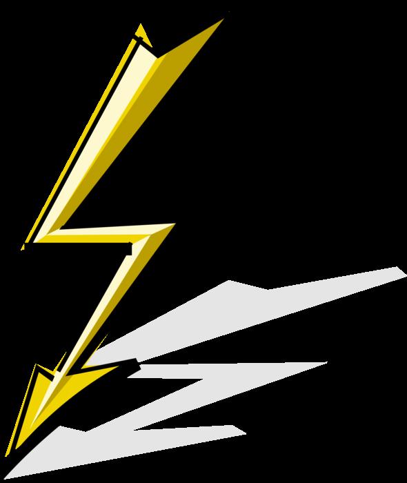 picture royalty free download Of lightning image illustration. Bolt vector illustrator