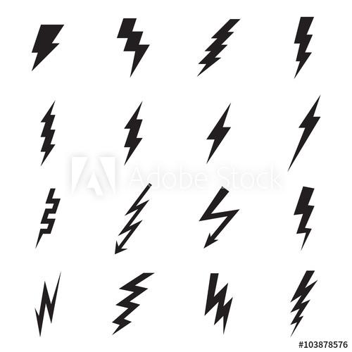 png black and white download Lightning icon illustration buy. Bolt vector illustrator