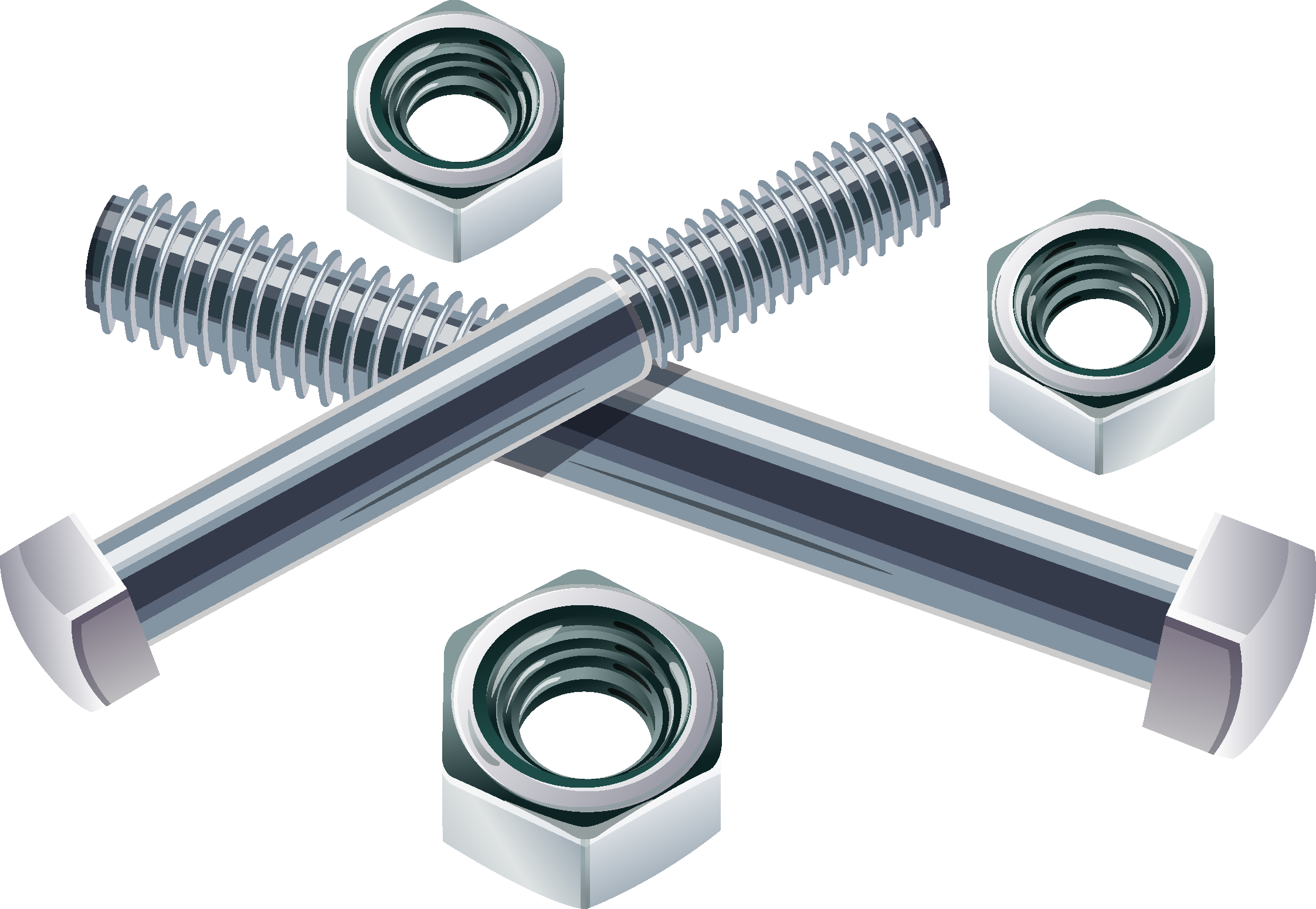 graphic download Bolt vector metal. Nut screw stainless steel