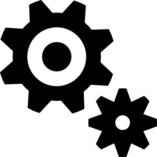image freeuse stock Free tools and utensils. Bolt vector silhouette