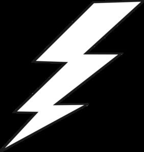 image black and white download Lightning Black Bolt Clip Art at Clker