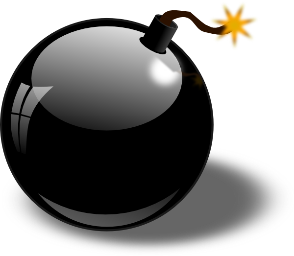jpg royalty free Bomb clipart. Hand free on dumielauxepices