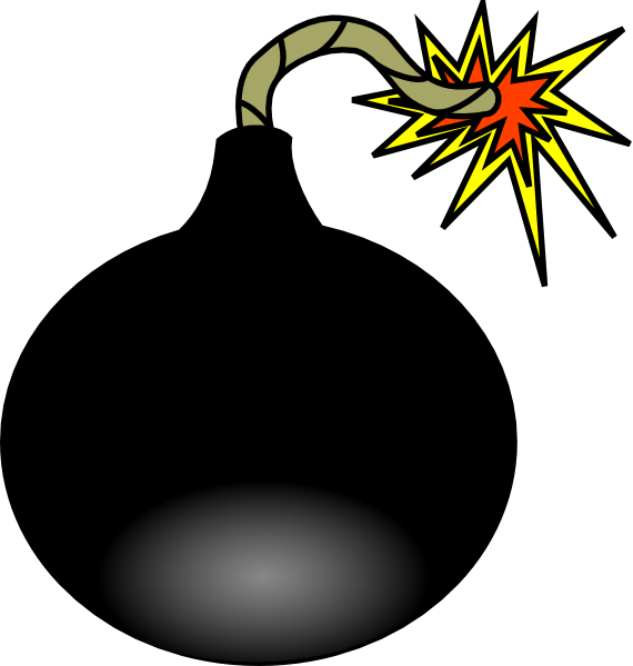 graphic free Bomb clipart. Animated