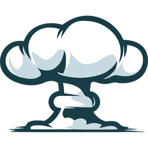graphic stock Nuclear explosion free on. Bomb clipart hydrogen bomb.